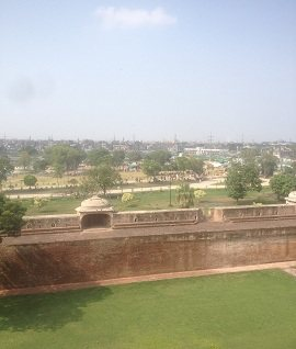 Defence wall of Shahi Fort