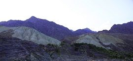 Barren Mountains Chilas