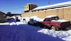 Heavy Snow in Ziarat