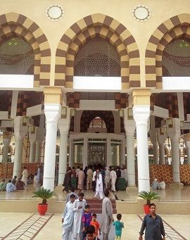 Inside View Sharine of Bari Imam