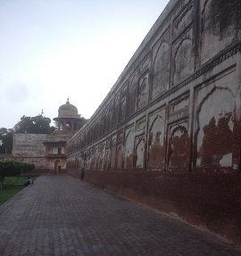 Shalamar Bagh Outer wall with Burj