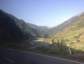 View of Kaghan Valley