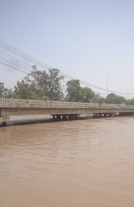 Bridge over Khanpur Canal Sheikhupura