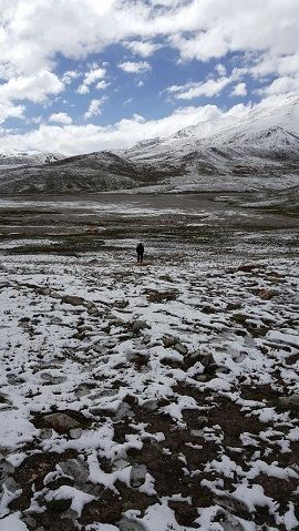 All year Snowfalling in Khunjrab Pass