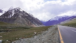 View of Khunjerab Pass