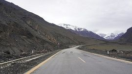 KKH near Khunjrab Pass