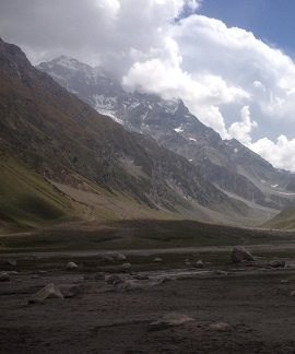Malaka Parbat View near Saif-ul-Maluk Lake