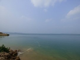 Beautiful view of Mangla Dam Lake