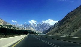 Passu Cones from Karakoram Highway
