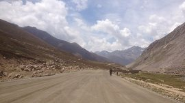 Road leads to Babusar Pass