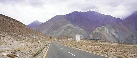 Road to Astore Valley