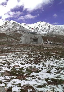 China Border Check Post Khunjrab Pass