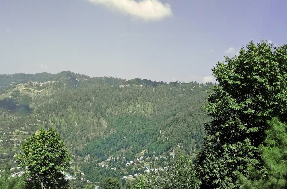 Beautiful view of Nathia Gali