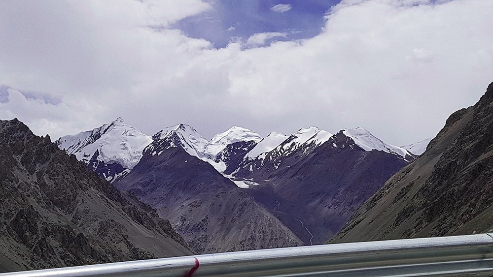 On the height of Khunjerab Pass