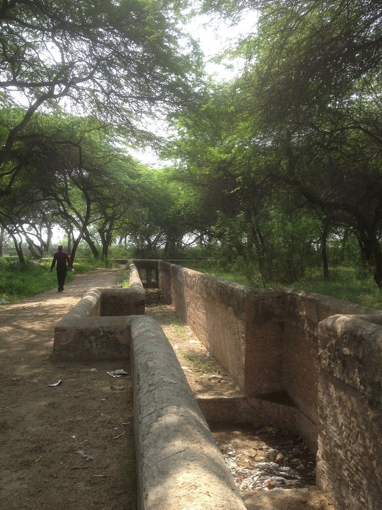 Old Water Channel Hiran Minar
