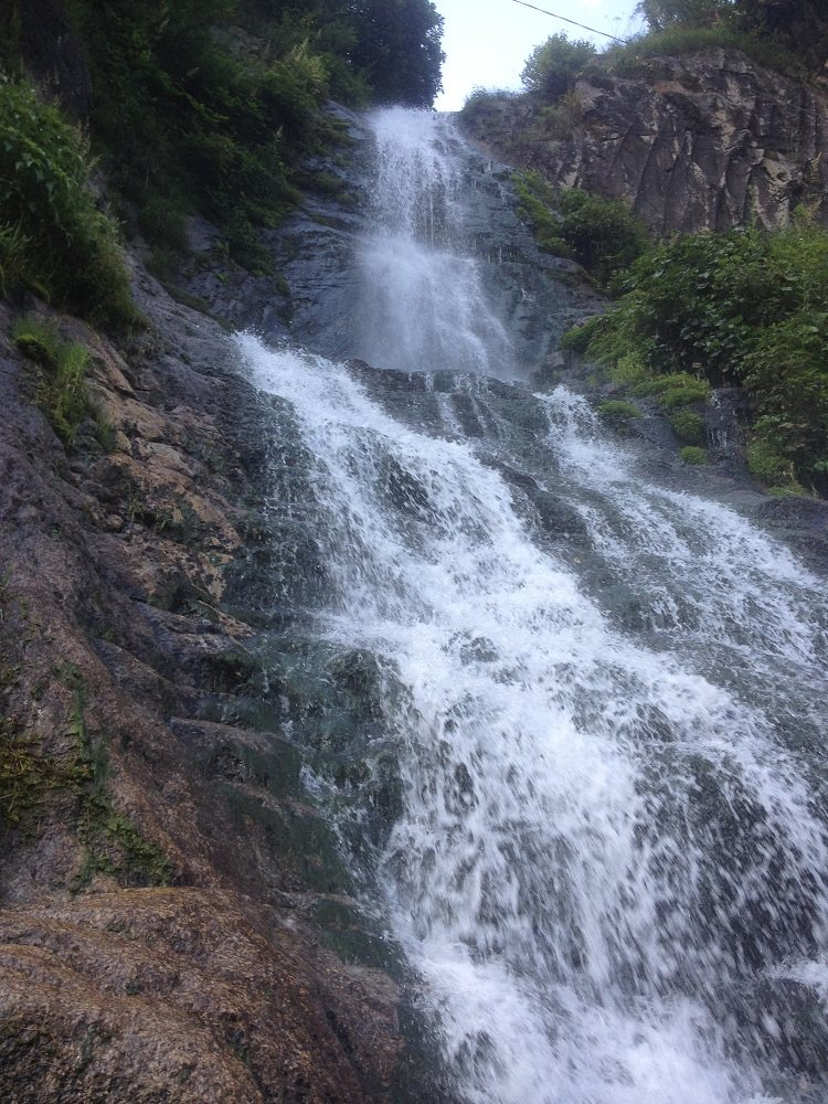 Waterfall near Janwai Neelum Valley