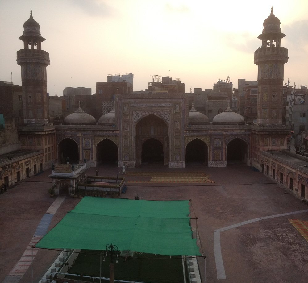 Wazir Khan Mosque Courtyard