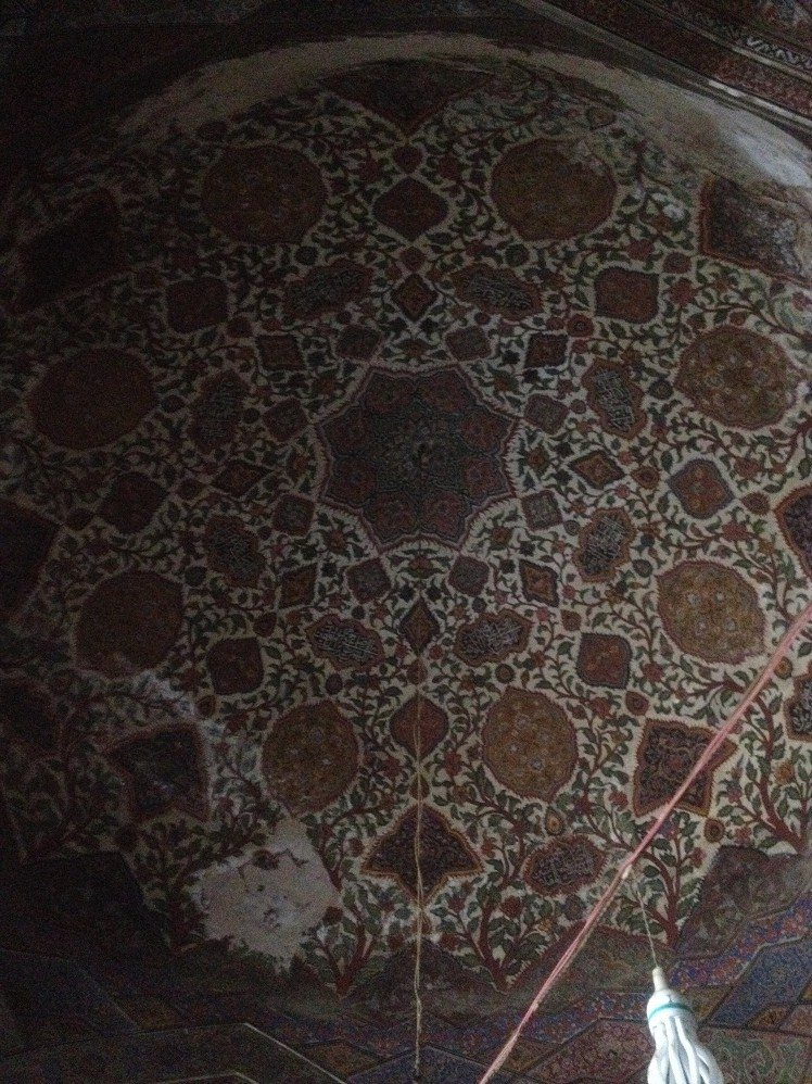 Wazir Khan Mosque Dome Interior