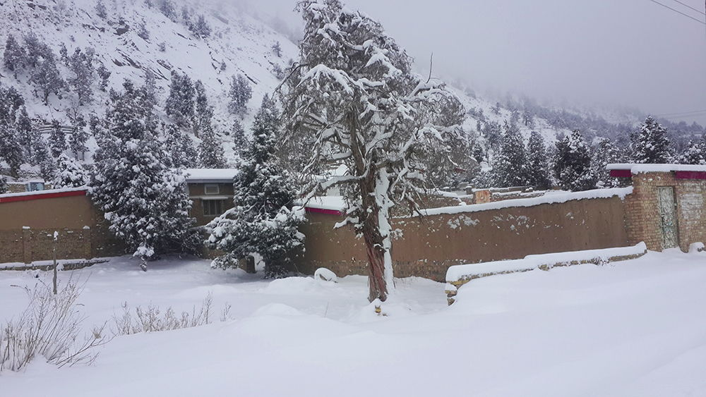 Winter in Ziarat